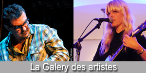 Des photos d'artistes de musique alternative en concert.
