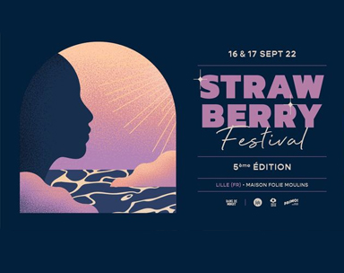 Strawberry Fest à Lille en France.